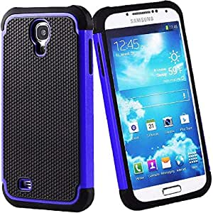 Shock Proof Defender Heavy Duty Armour Case Cover For Samsung Galaxy S4 i9500 i9505 Blue
