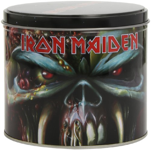 (Iron Maiden The Final Forntier Mug & Key Ring In Presentation Tin Licensed)