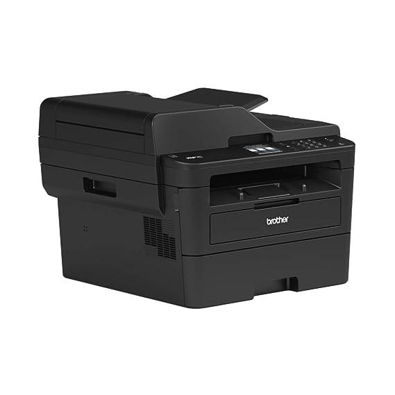 Brother MFCL2730DW - Impresora multifunción láser Monocromo con fax, Pantalla táctil e impresión dúplex (34 ppm, USB 2.0, WiFi, Ethernet, WiFi Direct, ...