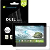 GreatShield Ultra Anti-Glare (Matte) Clear Screen Protector Film for Asus MeMO Pad FHD 10 (3 Pack)