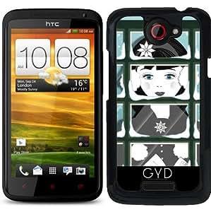 Funda para HTC one x - Villancico Cantante by Blingiton
