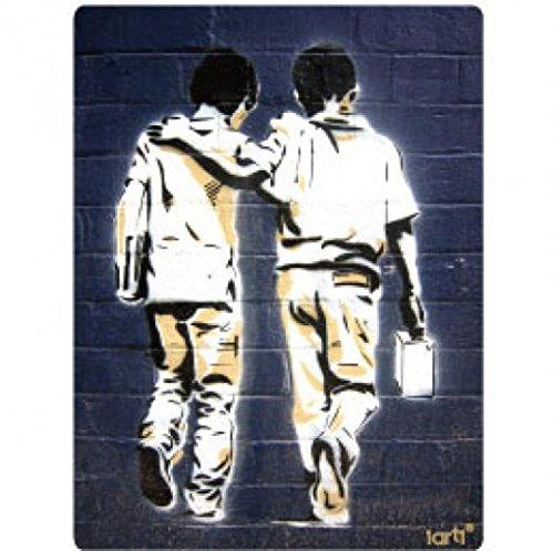 (1art1 Graffiti Sticker Adhesive Decal - Friends (4 x 4 inches))