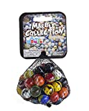 My Toy House Glass Marbles Bulk, Set of