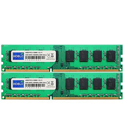 2800 DDR3 1600MHz Desktop Memory For AM3 AM3+ 990FX 990X 970 ()