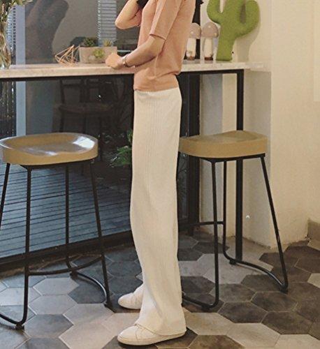 Di Del Delle Donne Sudore Larghe Bianca Caduta Pantaloni Wanyang Invernale Pantalone Un8q7w5xIZ