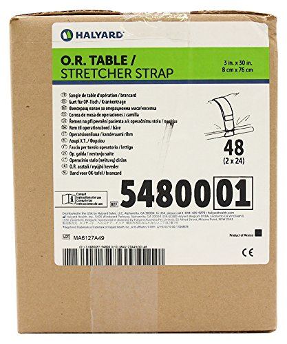 Amazon Com Halyard Health 54800 Or Table Stretcher Strap Non