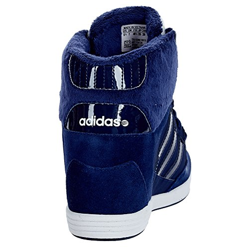 adidas wedge bleu