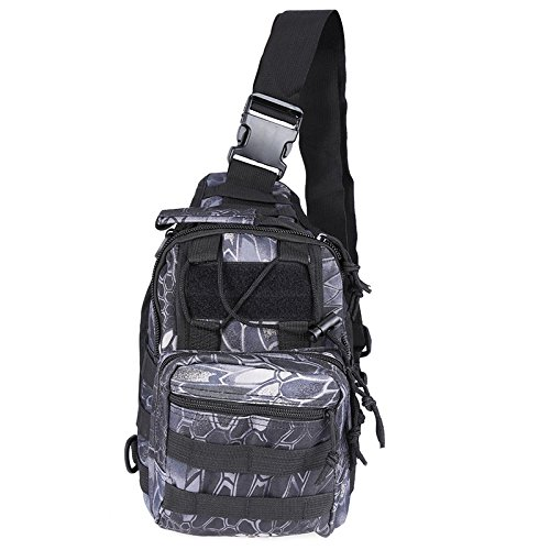 Chest Men Zipper Water Hiking Pack Travel Cycling Bags Shoulder Outdoor Army Black And For Daypacks Resistant Crossbody Sling Causal Green Backpack rwqEqPYA