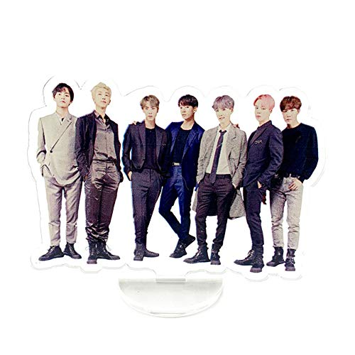 (Hosston BTS Stand Figure, Kpop Bangtan Boys Acrylic Figure Model Mini Standee Figure Doll Display Figure Best Gift for A.R.M.Y( A-Style 01))