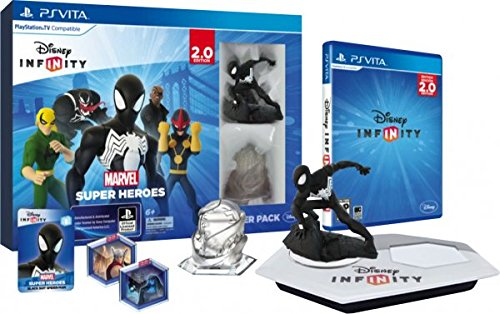 Disney Infinity Psvita 2 0 Marvel Superheroes Starter Pack Ps Vita Video Games