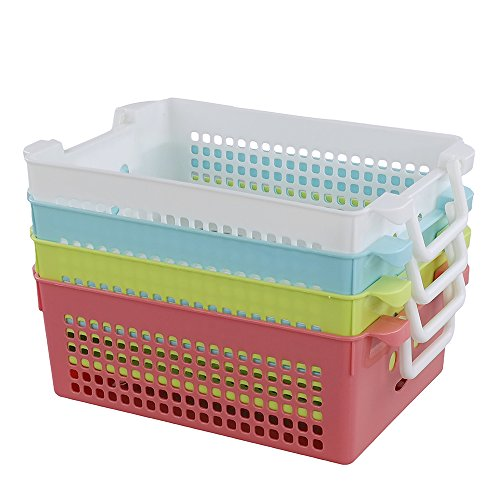 Cand Desktop Office Supplies Colored Storage Basket (Colored Baskets)