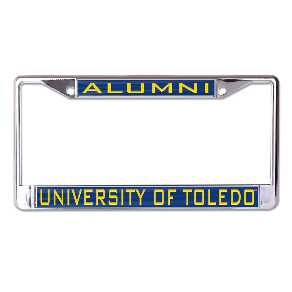 University of L382235 Inlaid Metal LIC Plate Frame WinCraft Toledo