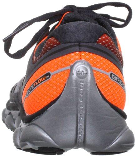 Chaussures Orange Argent Blanc Brooks Les Flux De Course Pur Hommes 2 nH6fZq