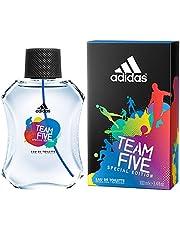 Team Five Special Edition by Adidas for Men - Eau de Toilette, 100ml
