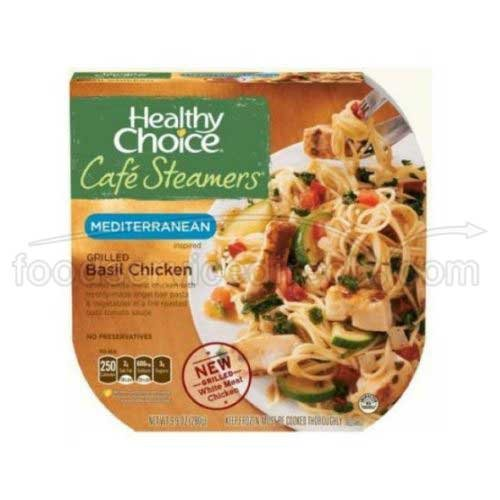 Healthy Choice Cafe Steamers Grilled Basil Chicken, 9.9 Ounce – 8 per case. For Sale