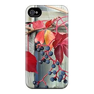 Quality Mwaerke Case Cover With Autumn Berries Nice Appearance Compatible With Iphone 4/4s by lolosakes