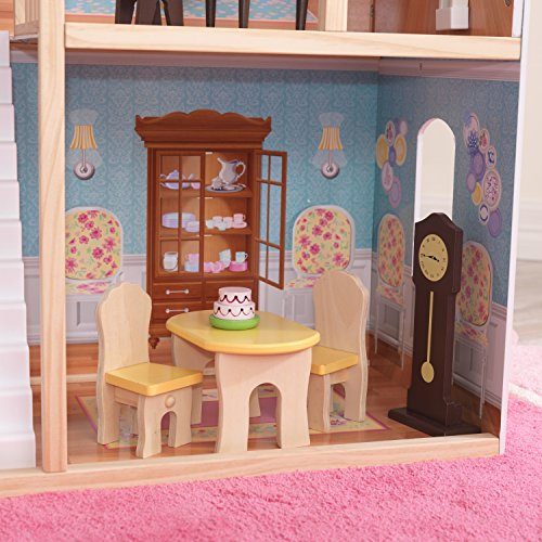 518jMHjz1FL - KidKraft So Chic Dollhouse with Furniture