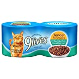 9Lives Tender Morsels With Real Flaked Tuna & Cheese Bits In Sauce Wet Cat Food, 4/5.5-Ounce Cans (Pack Of 6) Larger Image