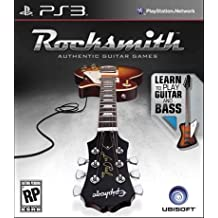 Rocksmith Authentic Guitar Games Software Only [PlayStation 3, PS3]