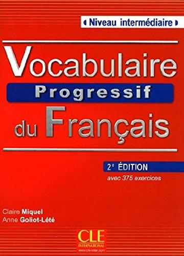 Read Online Vocabulaire Progressif Du Francais - Nouvelle Edition: Livre + Audio CD (Niveau Intermedaire) (French Edition) PDF