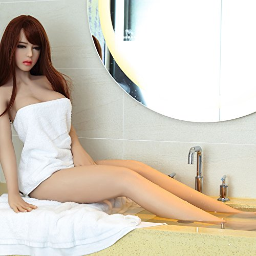 Y-Not 61.4 Inch/156cm TPE Full Size Sex Doll 3D Realistic Silicone Sexy Real Soild Love Doll Lifelike Flesh Pussy Anus Mouth for Male Masturbation-Ailie by Y-Not (Image #3)