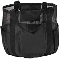 All Purpose Bag by SC Lifestyle- Tote w/ Zipper Pocket & Carabiner- Use As A Beach Bag or Grocery…