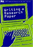 Writing a Research Paper, Lionel Menasche, 0472083694