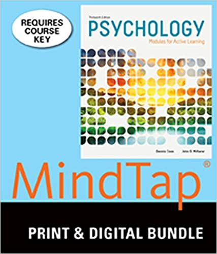 Amazon bundle psychology modules for active learning 13th bundle psychology modules for active learning 13th mindtap psychology 1 term 6 months printed access card 13th edition fandeluxe Images