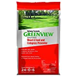 buy GreenView Fairway Formula Spring Fertilizer Weed & Feed Plus Crabgrass Preventer, 36 lb bag, Covers 10,000 Sq. Ft. now, new 2019-2018 bestseller, review and Photo, best price $59.99