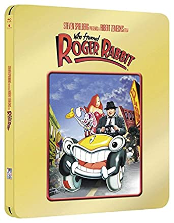 Amazon.com: Who Framed Roger Rabbit (Limited Edition Gold Steelbook ...