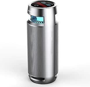 LTJX Purificador de Aire para Hogar y Oficina con Filtro HEPA, para Alergia, Tabaco, Caspa de Mascotas: Amazon.es: Hogar