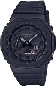 Casio Reloj para Unisex Adulto de Cuarzo con Correa en Caucho GA-2100-1A1ER