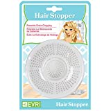 Evriholder HS Hair Stopper Bath Strainer, Pack of 2