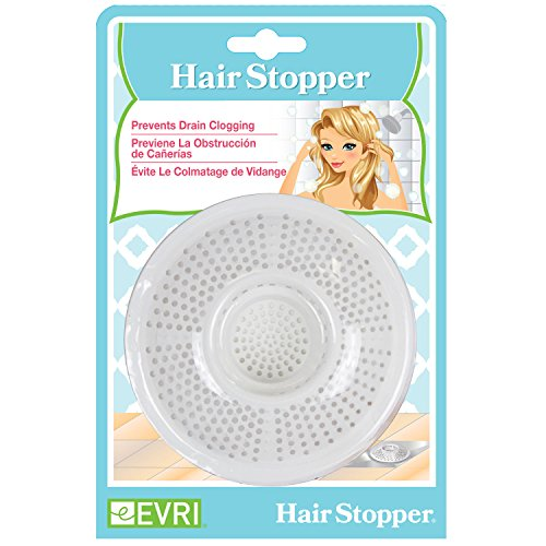 Evriholder Hair Stopper Bath Strainer product image