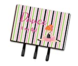 Caroline's Treasures Ballet Dance is my Life Red Wall Hook, Triple, Multicolor