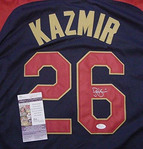 Scott Kazmir Oakland Athletics Autographed 2014 All Star #26 Jersey JSA COA