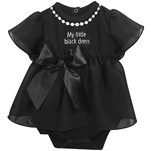 [Stephan Baby Little Black Dress Collection Ruffle-Skirted Diaper Cover, 6-12 Months] (Bible Fancy Dress)
