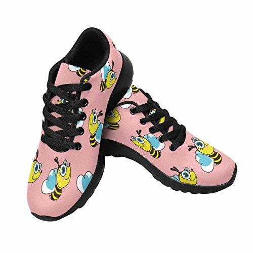 Interestprint Femmes Doux Sports Route Route Courir Chaussures De Marche Abeilles Multi 1