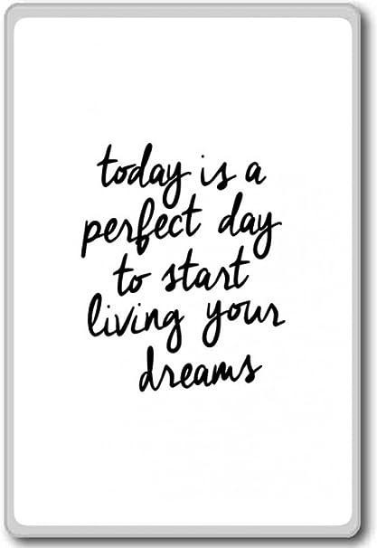 Motivational Quote Fridge Magnet Set Inspiration Ambition etc Dreams NEW