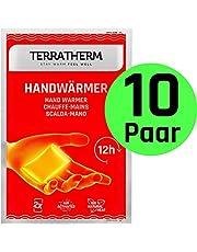 Scaldamani- 10 Paia, Scaldamani tascabili per 12 Ore di Mani Calde, Scaldini per Mani attivati a Contatto con l'Aria, 100% Calore Naturale, Scaldini per Le Tasche