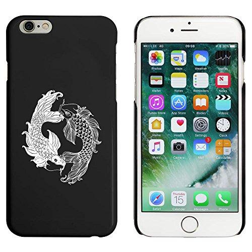 Noir 'Poisson Tourbillonner' étui / housse pour iPhone 6 & 6s (MC00033133)