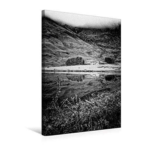 Calvendo Premium Textil-Leinwand 50 cm x 75 cm hoch, Loch Achtriochtan, Glencoe, Schottland   Wandbild, Bild auf Keilrahmen, Fertigbild auf echter Leinwand, Leinwanddruck Natur Natur B01L1UUQX8 Klassische Puzzles Rabatt   Neuheit