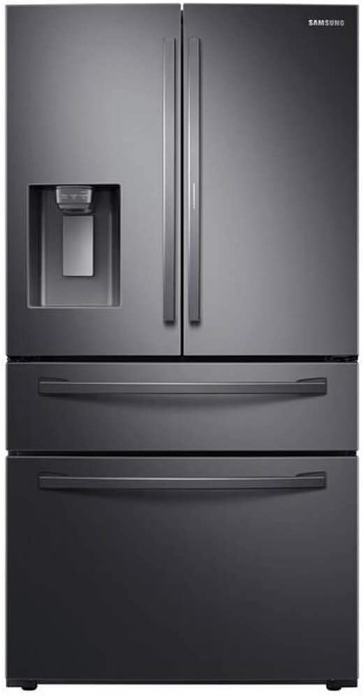 Samsung RF28R7351SG 27.8 Cu. Ft. Black Stainless 4-Door French Door Refrigerator