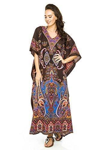 Neu Damen Überdimensional Maxi Kimono Kaftan Tunika Kaftan Damen Top Freie  Größe: Amazon.de: Bekleidung