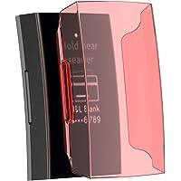 Cooljun Compatible avec Fitbit Charge 3,Protection Protecteur Ultra-Mince Clear PC Résine Protéger