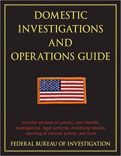 Book Domestic Investigations and Operations Guide