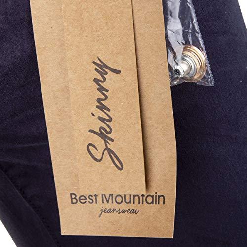 Best Femme Skinny Bleu Bleu Jean Marine Fonce Mountain wAzqvA71
