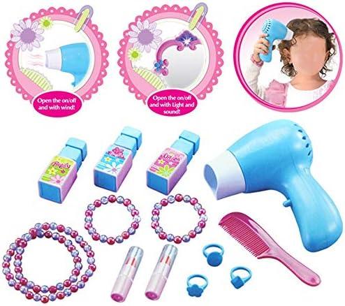 子供のための化粧台 表子供のリトルプリンセスパズル玩具女の子ドレッシングテーブルドレッシングプリンセスドレッシングテーブルシミュレーションプレイハウスは、安全70x40x30cmを設定します 子供のための素晴らしい贈り物 (Color : Pink, Size : 70x40x30cm)