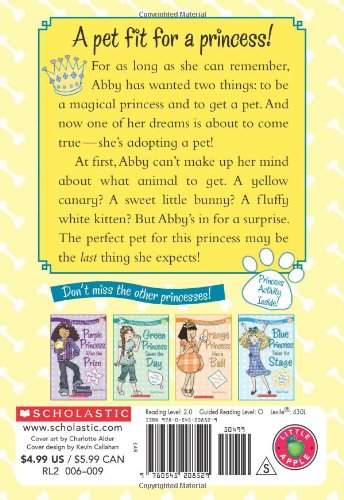 Perfectly Princess #6: Yellow Princess Gets a Pet by Scholastic Paperbacks (Image #1)