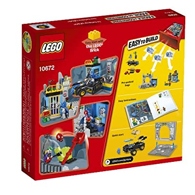 LEGO Juniors 10672 Batman: Defend the Bat Cave: Toys & Games